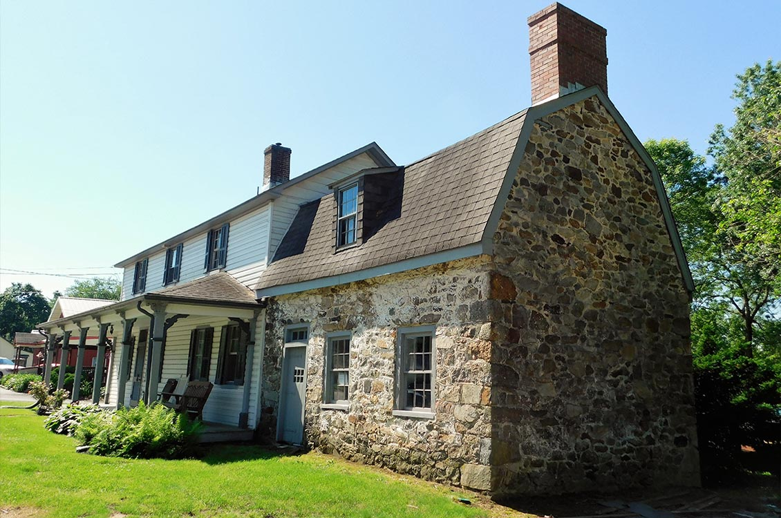 The Pacca House  - First deeded in 1753 to John Pacca, Jr., gentleman, of Baltimore and his wife Margaret.  John was the brother of Governor William Pacca, a signer of the Declaration of Independence.