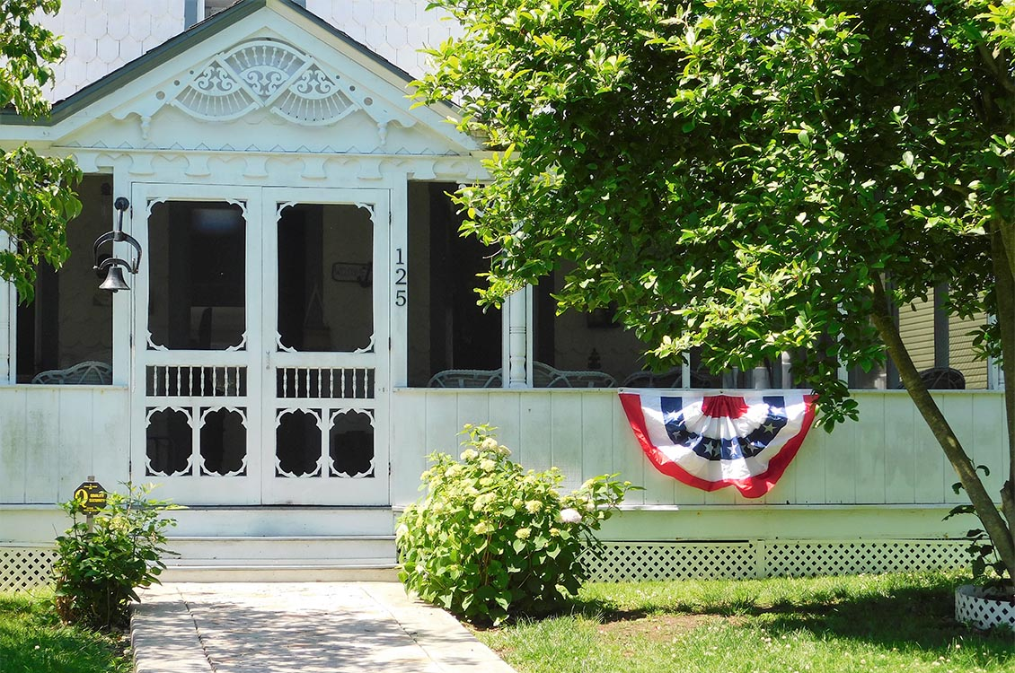 Many charming cottages were built for recreational family retreats  during the 1800's.